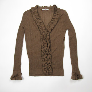 Anne Fontaine Brown Sweater