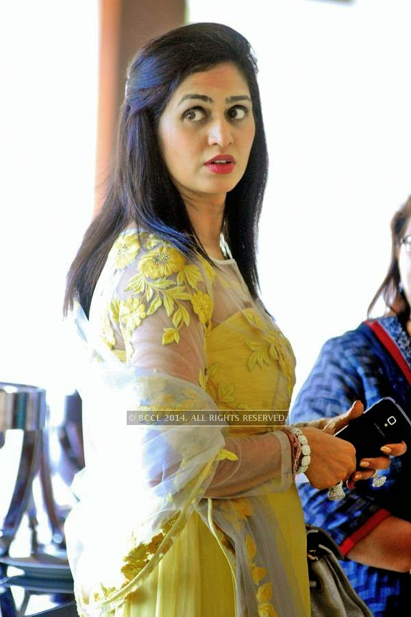 Kanak Meghraj during the talk show, in Jaipur.