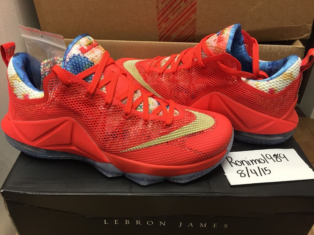 Nike Lebron 12 Bajo Ebay Trainwreck Pe Avistamiento En Ebay Bajo Nike Lebron 2563d9