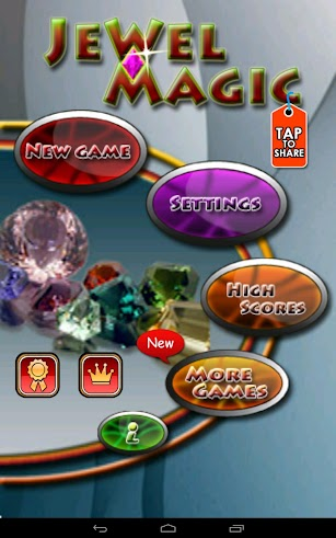 Jewel Magic screenshot for Android