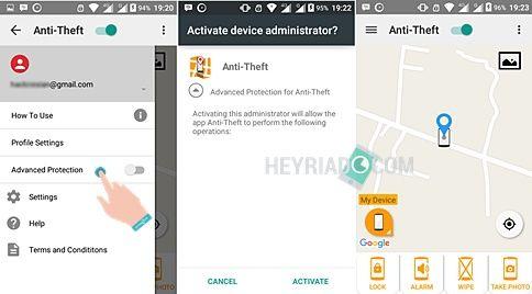 mempunyai banyak kemampuan luar biasa yang mungkin belum pernah kau ketahui sebelumnya Cara Memfoto Wajah Pencuri Android Dari Jarak jauh