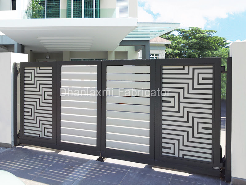 Design Of Compound Wall Gate : Best design of compound walls joy studio gallery