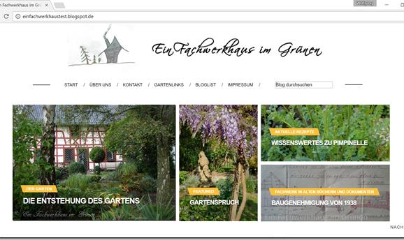 Neues Blog Design