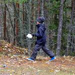 Samun, Emmin ja Juliaanan suunnistus 2013-10-17