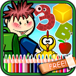 Kids Preschool Learning Games Icon