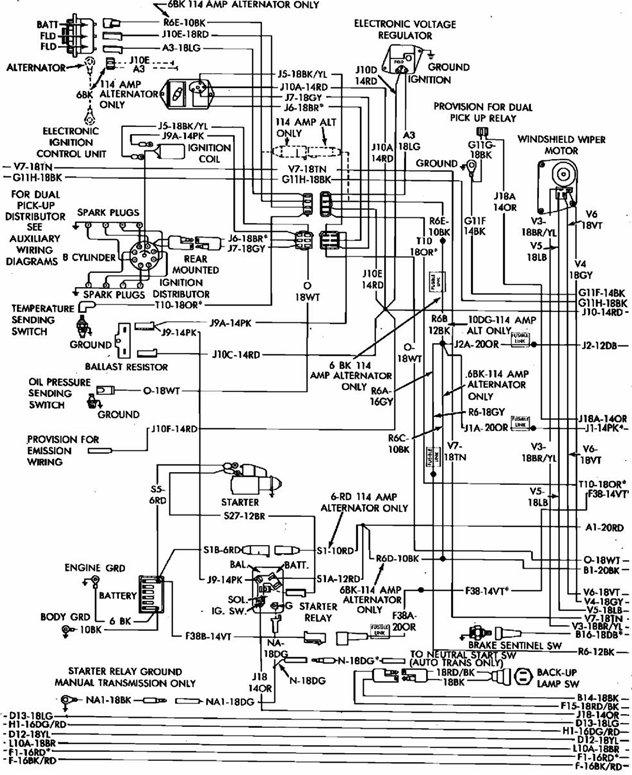 1978 Dodge Ramcharger Wiring Diagram • Wiring Diagram For Free