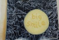 ein breites Lächeln