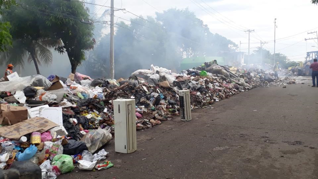 Mexican state officials declared a health emergency on 30 August 2018 after garbage in Acapulco piled up from not being collected. Photo: Comunicación Social Guerrero