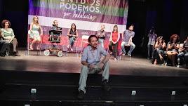 Mitin de Pablo Iglesias en Almería en las últimas generales.