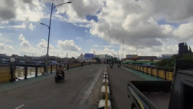 Jembatan Pangeran Antasari Di Aspal Teknologi Baru