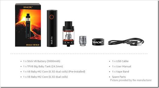 6390001 3 thumb%25255B2%25255D - 【海外】「Smoktech SMOK Stick V8 3000mAh Kit」「Smoktech SMOK H-Priv Mini 50W 1650mAh」「Smoktech SMOK Skyhook RDTA 220W」など