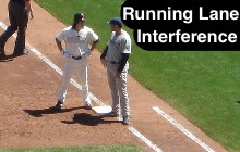 Running Lane Interference