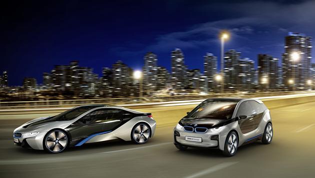 BMW i8 i3