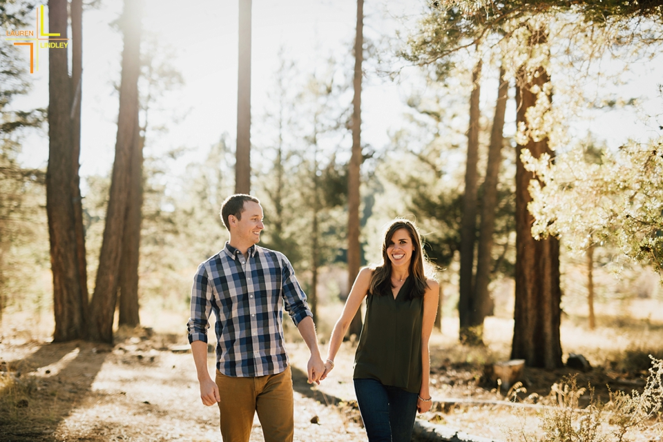 Tahoe Engagement Photos