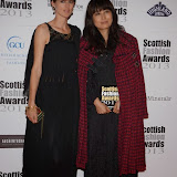 WWW.ENTSIMAGES.COM -Stella Tennant  at    Scottish Fashion Awards  at 8 Northumberland London October 9th 2013                                                 Photo Mobis Photos/OIC 0203 174 1069