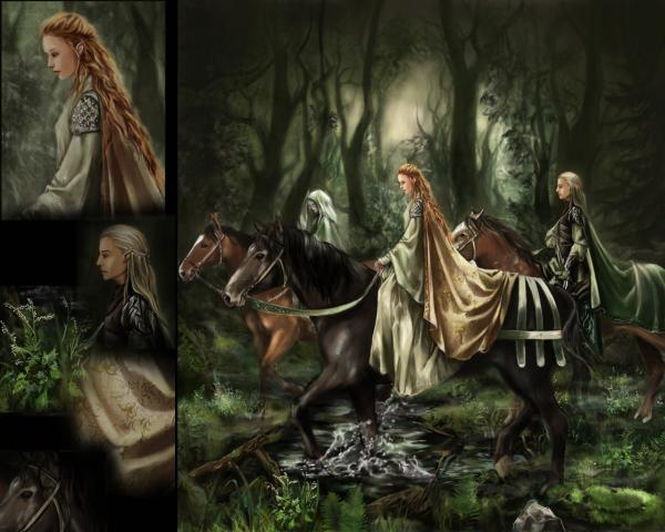 Departure Of Elves, Magick Lands 3