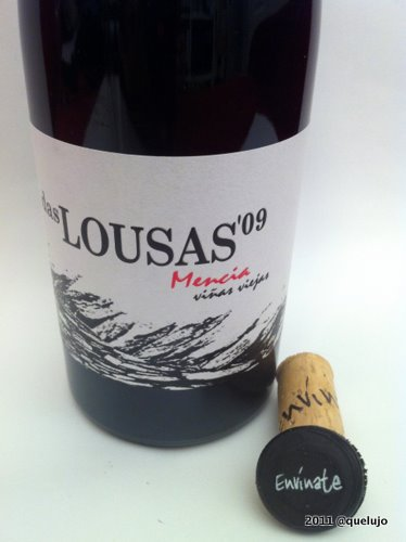 Vino Das Lousas 2009, Bodega Envínate, Vino Tinto