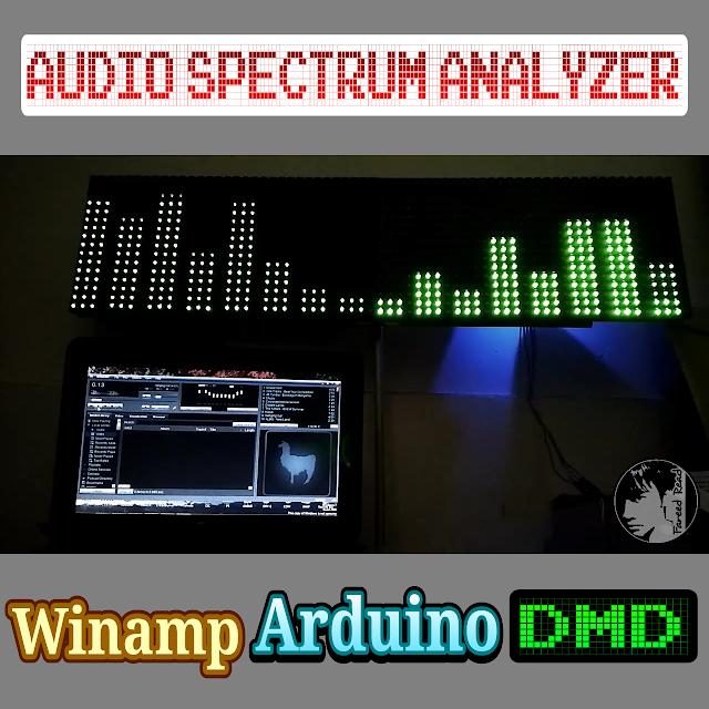 Audio Spectrum Analyzer LCD 16x2/DMD - Berbagi Tulisan