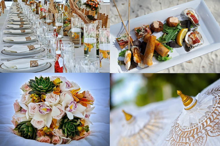 Intimate Beach Wedding Decoration Ideas