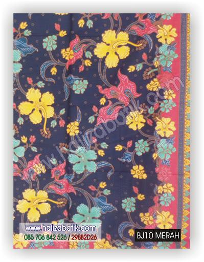 Baju Batik Modern, Baju Grosir, Butik Baju Batik, BJ10 MERAH