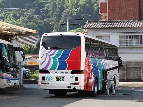 名鉄バス「名古屋~松山線」 八幡浜到着 その2