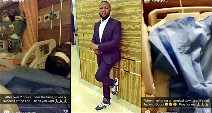 See what the Gucci mainia Hushpuppi says about his new Gucci nose