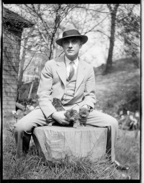 William Carlos Williams and kittens