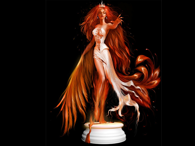 Red Goddess Of Fire, Goddesses