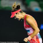 Ana Ivanovic in action at the 2016 Australian Open
