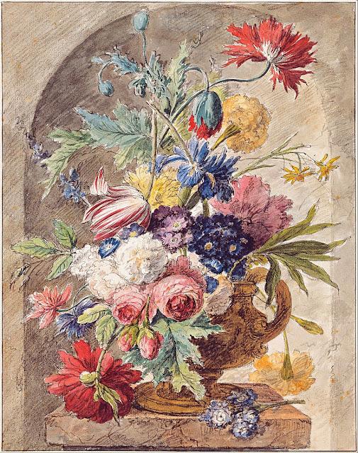 Jan van Huysum - Flower Still Life, c. 1734 - Google Art Project