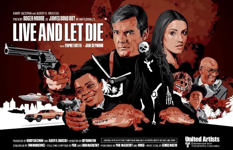 Live and let die - James bond movie List