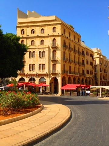 Picture of Place de l'Etoile in the center of Beirut.