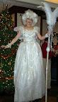 Snow Fairy on Stilts