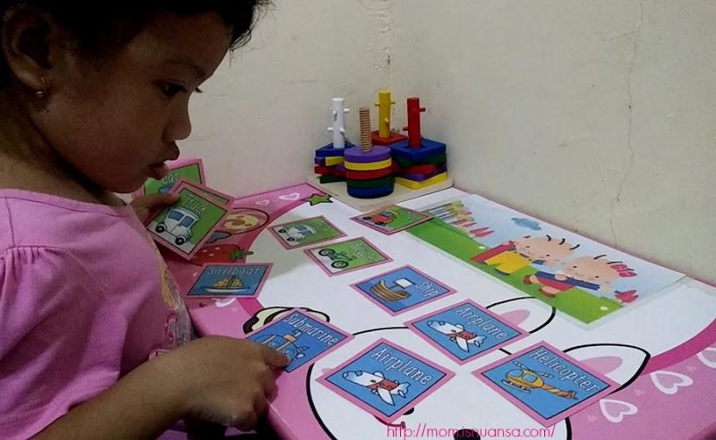 Matching Game ala Mama Diana