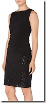 Lauren Ralph Lauren sequin and jersey dress