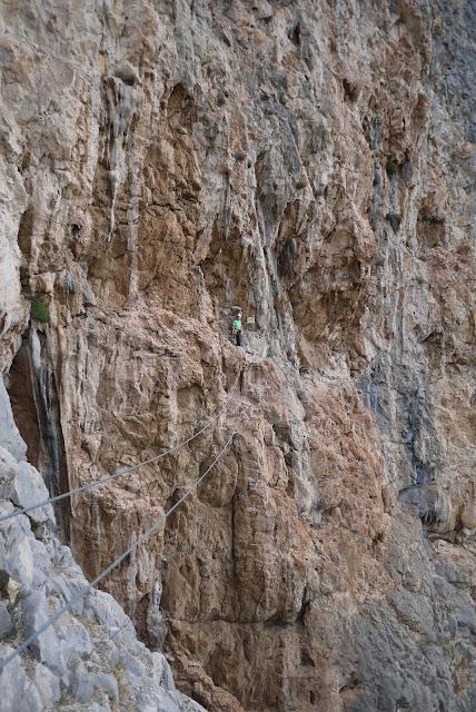 Climbing Via Ferrata El Chorro
