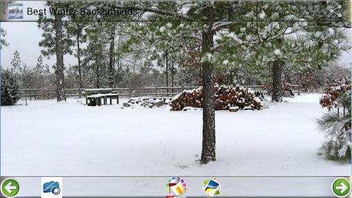 ベスト冬の背景