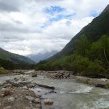 La rivière Baksan près de Terskol (Kabardino-Balkarie), 6 août 2014. Photo : J. Marquet