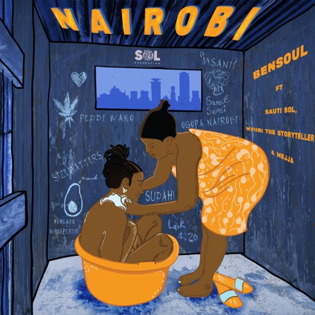Bensoul ft Sauti Solo,Nviiri the Story Teller & Mejja - Nairobi   Download Audio