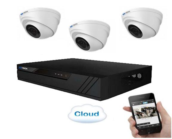 Lap Dat Tron Goi Bo 3 Camera Quan Sat HD CVI 10 KBVision Lắp Đặt Trọn Gói Bộ 3 Camera Quan Sát HD CVI 1.0 KBVision