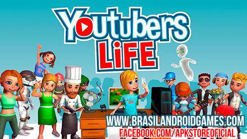 Download Youtubers Life - Gaming v2.2 APK + MOD DINHEIRO INFINITO + OBB DATA Grátis - Jogos Android
