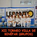 XII TORNEO VILLA DE BINÉFAR (GRUPOS)