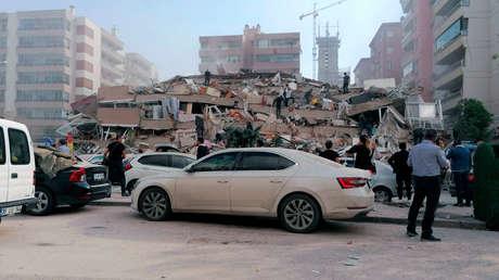 Un terremoto de magnitud 7 grados sacude Turquía y Grecia.