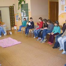Kroužek Zdravotník - příprava na soutěž 2010