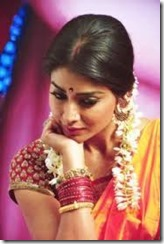 Indian woman jasmine