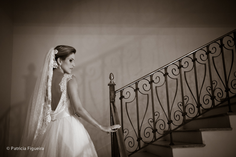Foto de casamento 0276pb de Ana e Joao. Marcações: 29/10/2011, Casamento Ana e Joao, Fotos de Vestido, Lethicia Bronstein, Rio de Janeiro, Vestido, Vestido de Noiva.