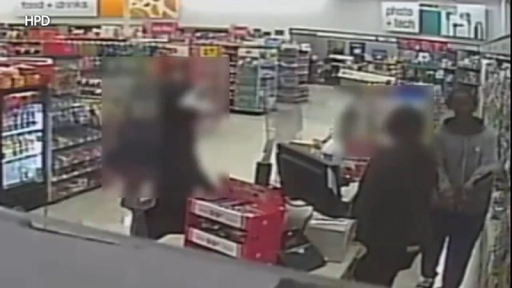Serial robbery crew stopped in their tracks by security guard at N Houston pawnshop