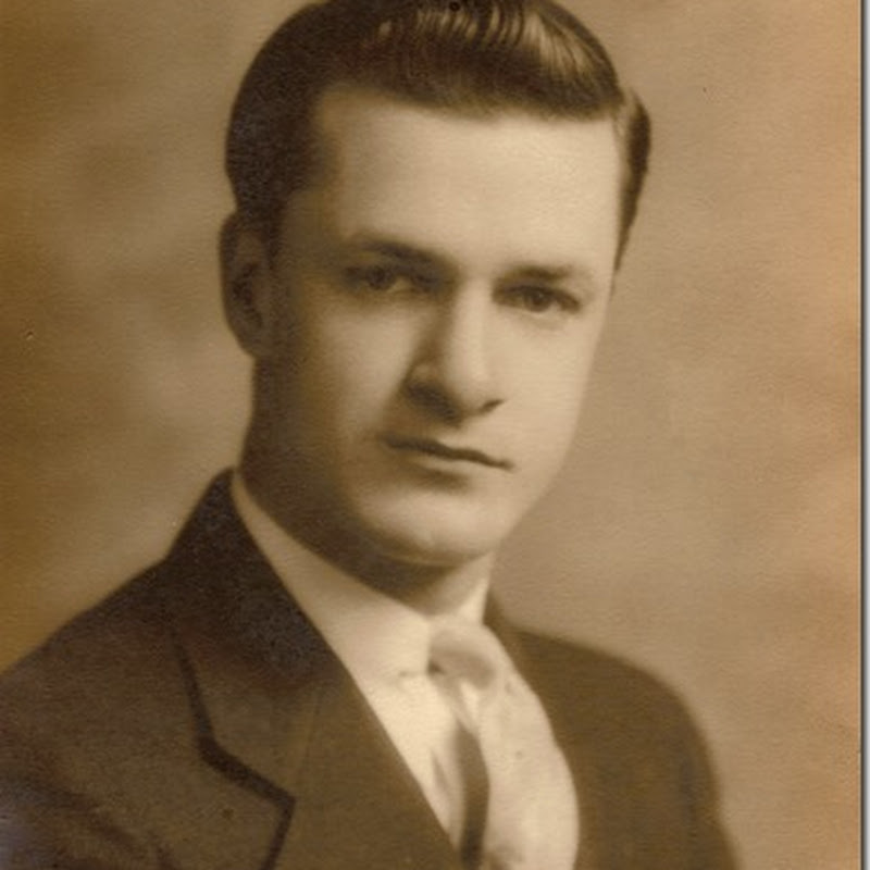 HERE'S WHY I THINK MY DAD WAS 20 YEARS OLD WHEN HE GRADUATED FROM HIGH SCHOOL IN 1933?
