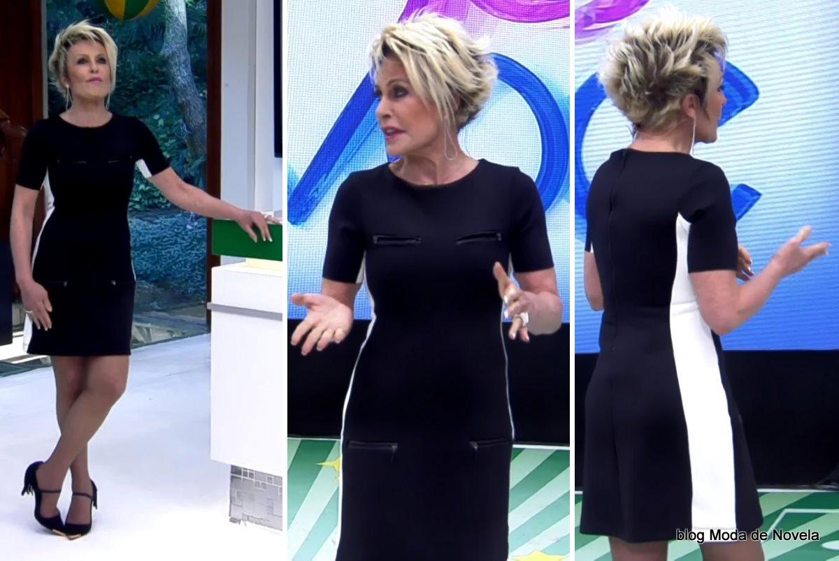 moda do programa Mais Você - look da Ana Maria Braga dia 30 de junho