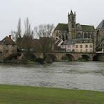 Le pont et l'église Notre-Dame